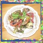 Amanida de quinoa